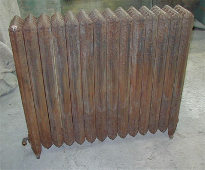 Cast Iron Radiator Painting